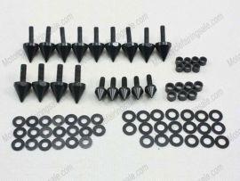 Ninja ZX10/ZX10R Fairing Screw Bolts For Kawasaki - 2004-2005 - Black