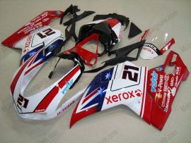 848 / 1098 / 1198 2007-2009 Injection ABS Fairing For Ducati - Xerox - Red/White/Blue