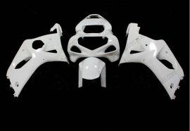 GSX-R 1000 2000-2002 K1 K2 Injection ABS Unpainted Fairing For Suzuki - White
