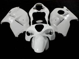 GSX-R 1300 1996-2007 Injection ABS Unpainted Fairing For Suzuki Hayabusa - White