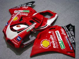 748 / 998 / 996 Injection ABS Fairing For Ducati - INFOSTRADA - Red