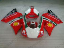 748 / 998 / 996 Injection ABS Fairing For Ducati - INFOSTRADA - Red/White
