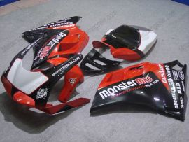 748 / 998 / 996 Injection ABS Fairing For Ducati - Monstermob - Black/Red/White