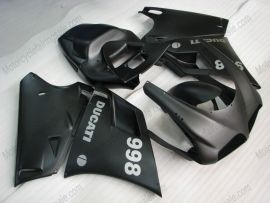 748 / 998 / 996 Injection ABS Fairing For Ducati - Others - All Black