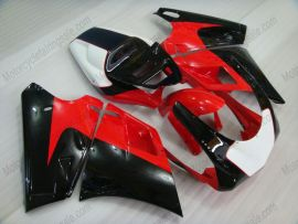748 / 998 / 996 Injection ABS Fairing For Ducati - Others - Black/Red/White