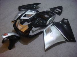 748 / 998 / 996 Injection ABS Fairing For Ducati - Others - Black/Silver