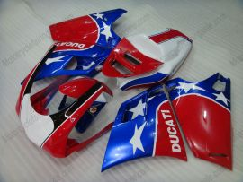 748 / 998 / 996 Injection ABS Fairing For Ducati - Others - Red/Blue/White