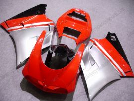 748 / 998 / 996 Injection ABS Fairing For Ducati - Others - Red/Silver/Black