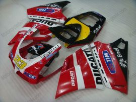 748 / 998 / 996 Injection ABS Fairing For Ducati - Others - Red/White/Black