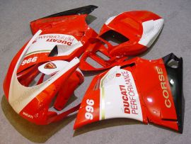 748 / 998 / 996 Injection ABS Fairing Ducati - Performance - White/Red