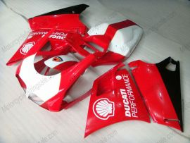 748 / 998 / 996 Injection ABS Fairing For Ducati - Performance - Red/White