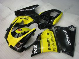 748 / 998 / 996 Injection ABS Fairing For Ducati - Performance - Yellow/Black