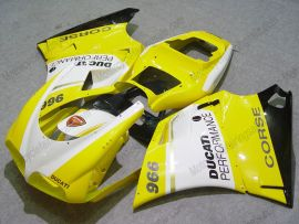 748 / 998 / 996 Injection ABS Fairing For Ducati - Performance - Yellow/White