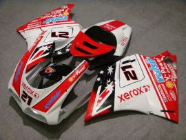 748 / 998 / 996 Injection ABS Fairing For Ducati - Xerox - Red/White
