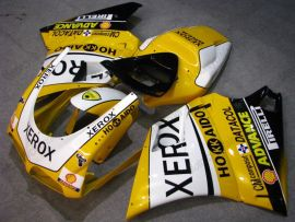748 / 998 / 996 Injection ABS Fairing For Ducati - Xerox - Yellow/White