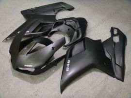 848 / 1098 / 1198 2007-2009 Injection ABS Fairing For Ducati - Factory Style - All Black