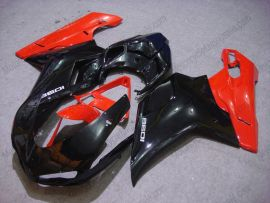 848 / 1098 / 1198 2007-2009 Injection ABS Fairing For Ducati - Others - Black/Red