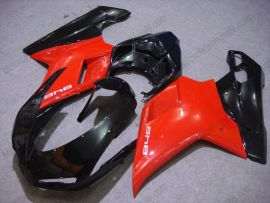 848 / 1098 / 1198 2007-2009 Injection ABS Fairing For Ducati - Others - Red/Black
