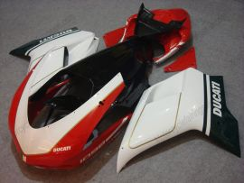 848 / 1098 / 1198 2007-2009 Injection ABS Fairing For Ducati - Others - White/Red/Black
