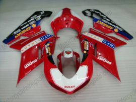 848 / 1098 / 1198 2007-2009 Injection ABS Fairing For Ducati - Performance - Red/White