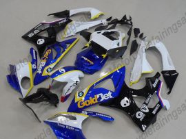 2009-2014 Injection ABS Fairing For BMW S1000RR - Castrol - Black