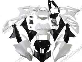 2009-2014 Injection ABS Unpainted Fairing For BMW S1000RR - Factory Style - Black/White