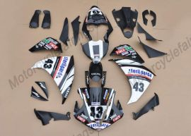 YZF-R1 2009-2011 Injection ABS Fairing For Yamaha - Others - White/Black