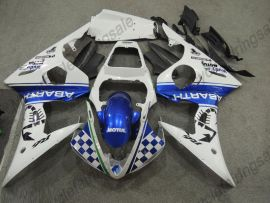 YZF-R1 2004-2006 Injection ABS Fairing For Yamaha - MOUTUL - Blue/White