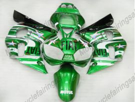 YZF-R6 1998-2002 Injection ABS Fairing For Yamaha - FIAT - green/white