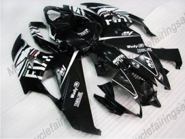 YZF-R6 2006-2007 Injection ABS Fairing For Yamaha - FIAT - black