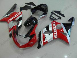 GSX-R 1000 2000-2002 K1 K2 Injection ABS Fairing For Suzuki - Others - Red/Silver/Black