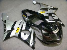 GSX-R 1000 2000-2002 K1 K2 Injection ABS Fairing For Suzuki - Others - Black/Silver