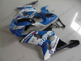 GSX-R 1000 2000-2002 K1 K2 Injection ABS Fairing For Suzuki - Others - Blue/White