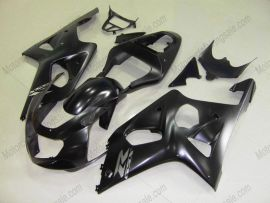 GSX-R 1000 2000-2002 K1 K2 Injection ABS Fairing For Suzuki - Others - All Black