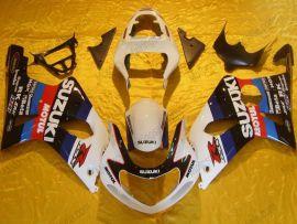 GSX-R 1000 2000-2002 K1 K2 Injection ABS Fairing For Suzuki - Motul - White/Black/Red
