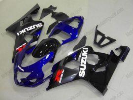 GSX-R 600/750 2004-2005 K4 Injection ABS Fairing For Suzuki - Others - Black/Blue