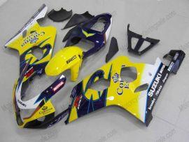 GSX-R 600/750 2004-2005 K4 Injection ABS Fairing For Suzuki - Corona - Yellow/Blue
