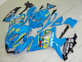 GSX-R 600/750 2008-2010 K8 Injection ABS Fairing For Suzuki - Rizla+ - Blue