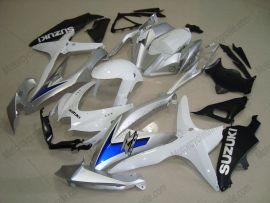 GSX-R 600/750 2008-2010 K8 Injection ABS Fairing For Suzuki - Others - White/Black