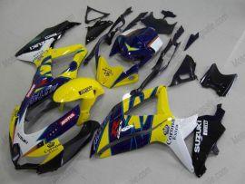 GSX-R 600/750 2008-2010 K8 Injection ABS Fairing For Suzuki - Corona - Yellow/Blue/Black