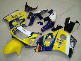 GSX-R 600/750 1997-1999 ABS Fairing For Suzuki - Corona - Yellow/Blue