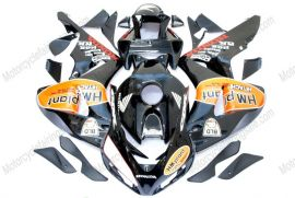 CBR1000RR 2006-2007 Injection ABS Fairing For Honda - HM plant - Black