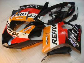 CBR1100XX 1996-2007 Injection ABS Fairing For Honda BLACKBIRD- Repsol - Orange/Black/Red