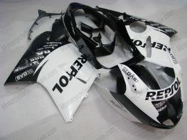 CBR 1100XX 1996-2007 Injection ABS Fairing For Honda BLACKBIRD - Repsol - White/Black