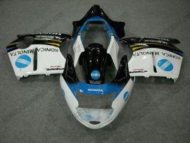 CBR 1100XX 1996-2007 Injection ABS Fairing For Honda BLACKBIRD - Others - Black/White
