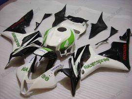 F5 2007-2008 Injection ABS Fairing For Honda CBR 600RR - HANN Spree  - White/Black