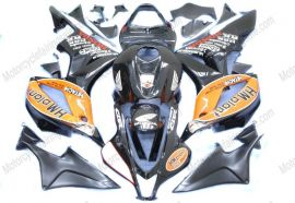 F5 2007-2008 Injection ABS Fairing For Honda CBR 600RR - HM plant  - Black
