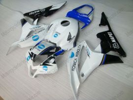 F5 2007-2008 Injection ABS Fairing For Honda CBR 600RR - Konica Minolta  - White/Black