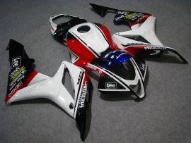 F5 2007-2008 Injection ABS Fairing For Honda CBR 600RR - Lee  - White/Black/Red