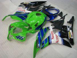 F5 2007-2008 Injection ABS Fairing For Honda CBR 600RR - Nastro Azzurro  - Green/Black/White